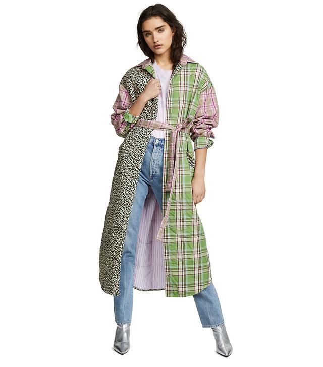 Natasha Zinko Padded Oversized Robe Coat