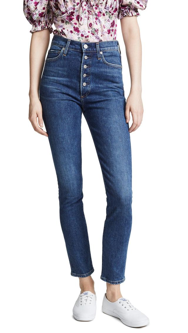 Citizens of Humanity Olivia Exposed Fly Jeans in Circa