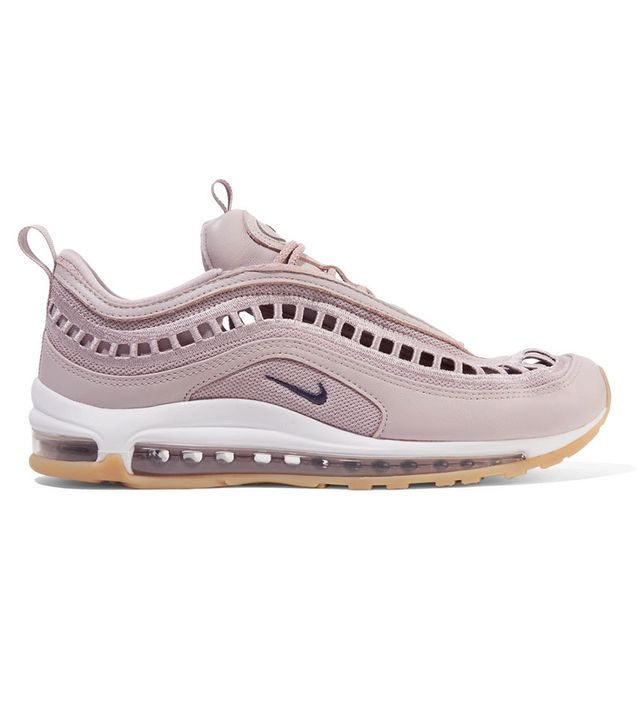 Nike Air Max 97 Ultra 17 Si Cutout Mesh And Leather Sneakers