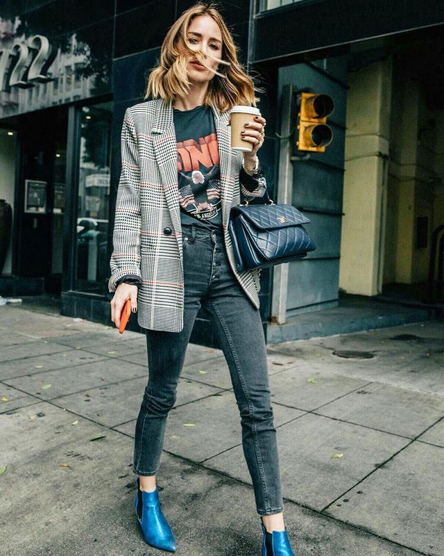 Easy Outfit to Make Mornings Easier: Blazer and Jeans