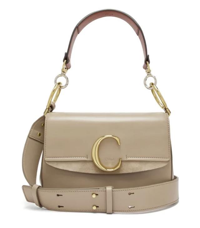 Chloé The C Leather Shoulder Bag