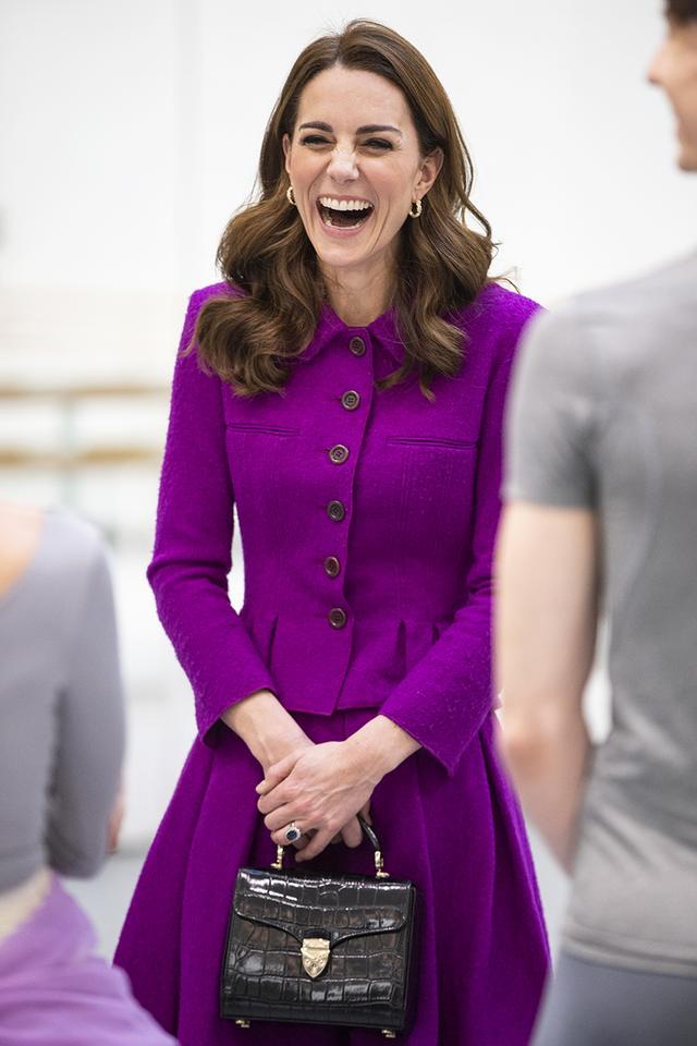 Kate Middleton croc handbag