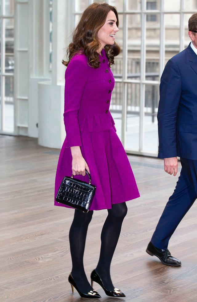 Kate Middleton magenta suit