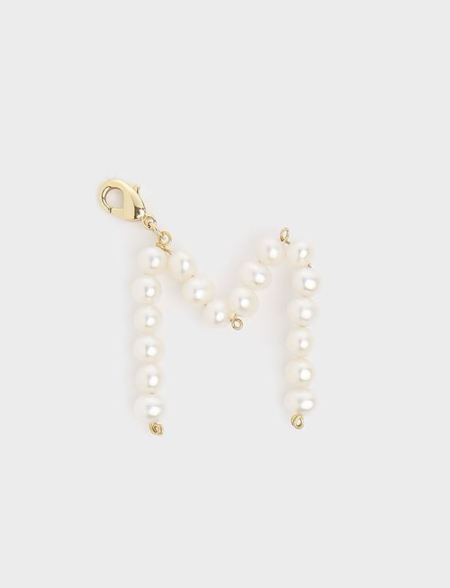 Timeless Pearly Pearl Letter Pendants