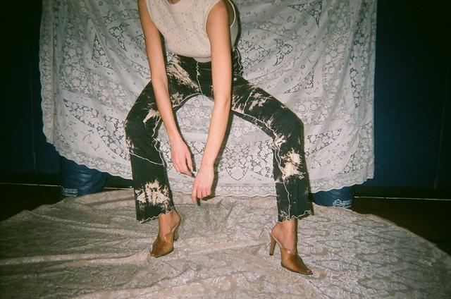 Kim Shui Tie-Dye Knit Pants