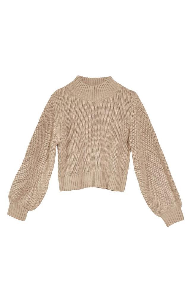 Jeu Illimite Margo Bubble Knit Sweater
