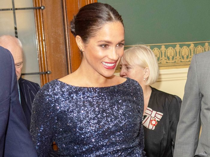 Meghan Markle Wore Hollywood's #1 Red Carpet Shoes With a Glittery Gown