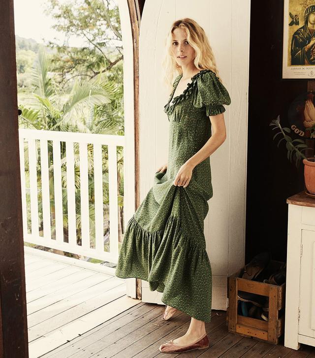 Dôen Olive Dress