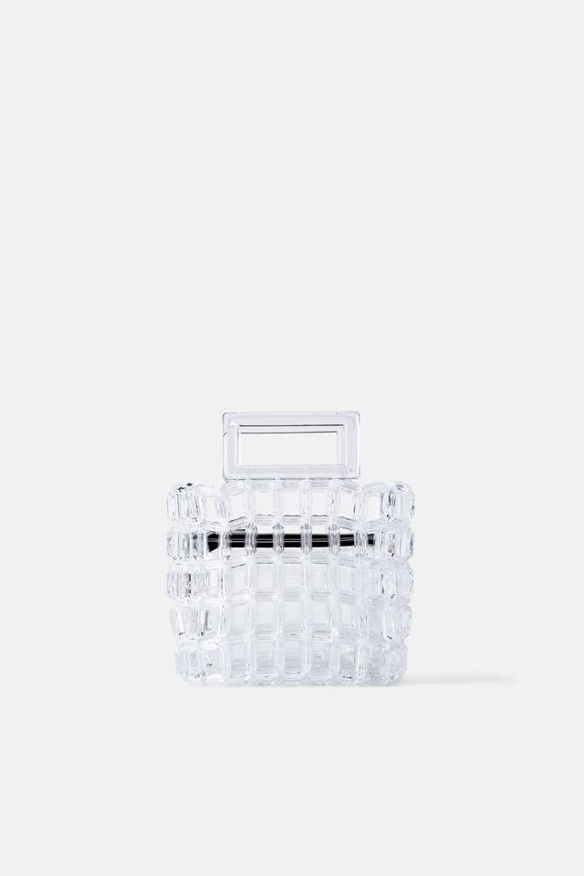 Zara Transparent Handbag