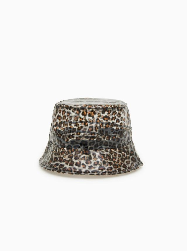 Zara Animal Print Rain Hat