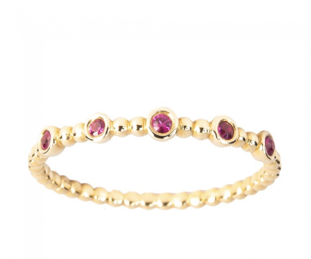 Paola Pacheco Ruby Ring