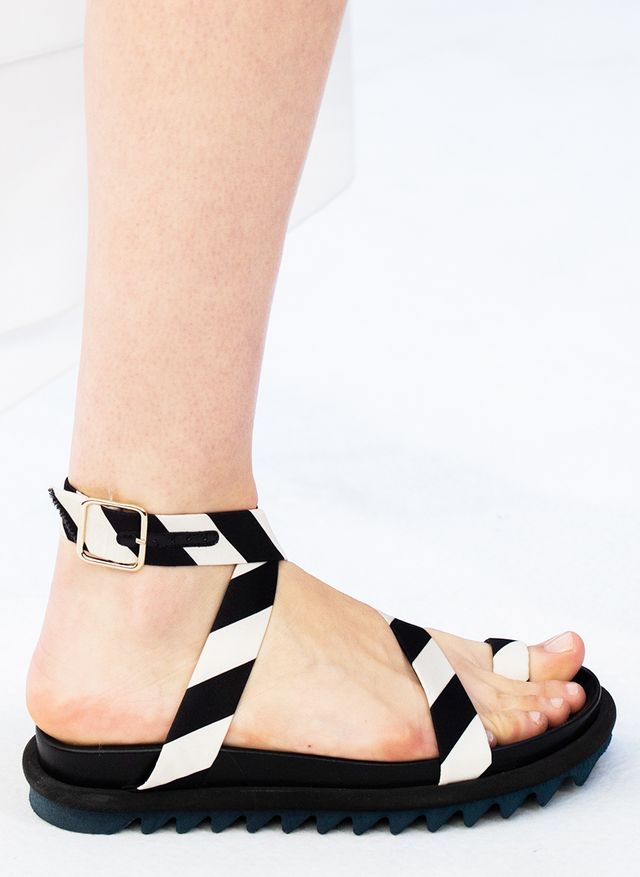 Chunky-sandal trend: Dries Van Noten