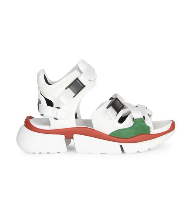 Chloé Crosta Chunky Sole Sporty Sandals