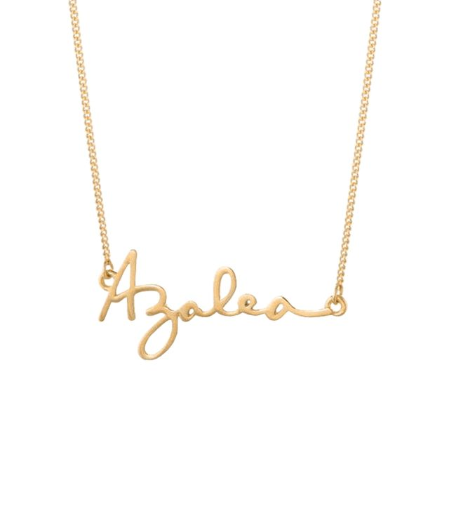 Capsul Jewelry Custom Signature Necklace