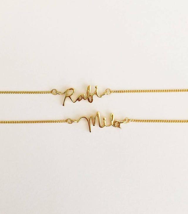 Capsul Jewelry Custom Signature Bracelet