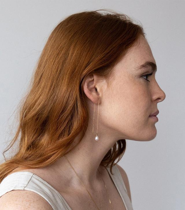Cadette Luce Threader Earrings