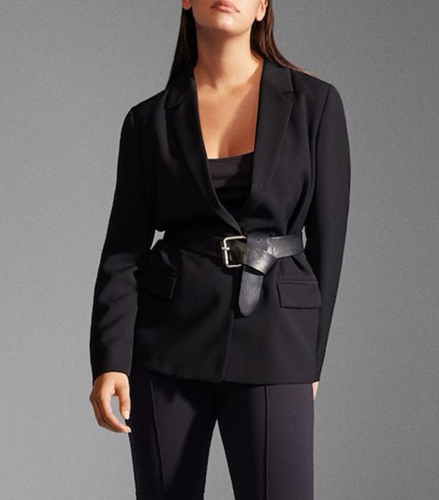 Violeta Structured Suit Blazer