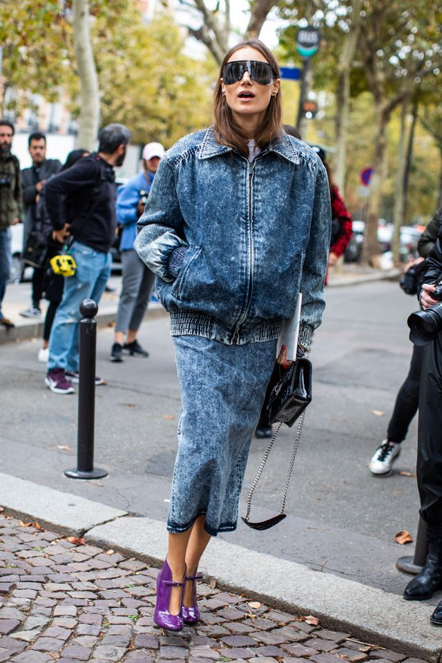 The Modern Way to Wear Acid Wash Jeans