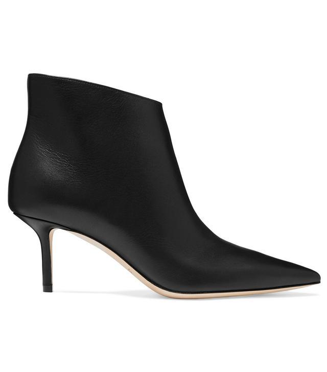 Jimmy Choo Marinda 65 Leather Ankle Boots