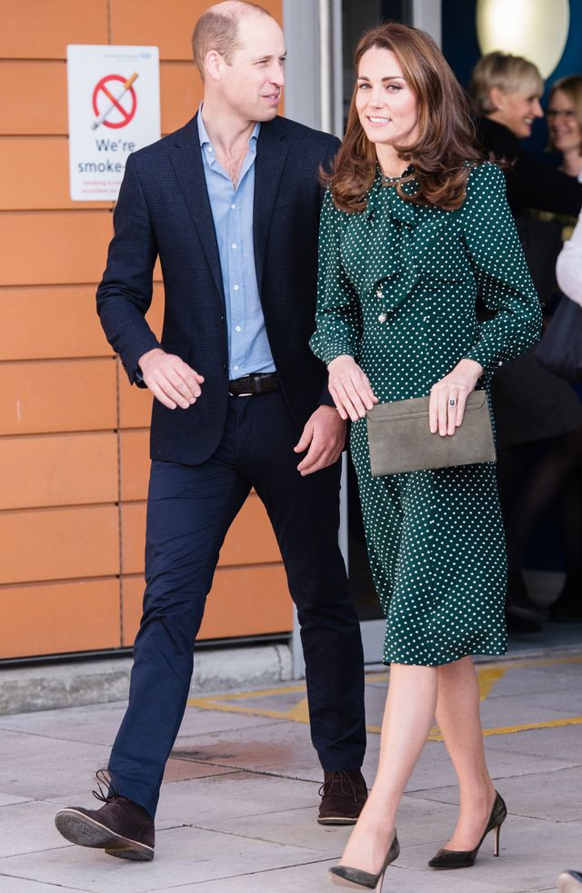 Kate Middleton Wearing LK Bennett dress