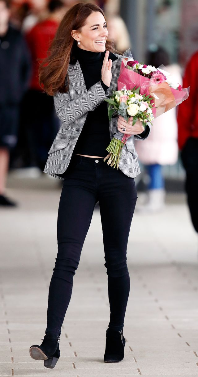 Kate Middleton Wearing Ankle Boots