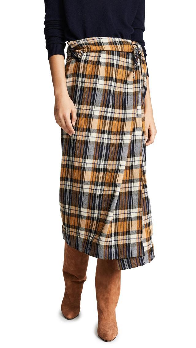 Forte Forte Tartan Skirt