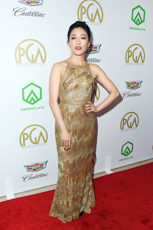Constance Wu at the 2019 Producers Guild Awards