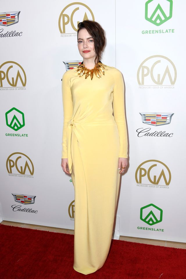 Emma Stone at the 2019 Producers Guild Awards