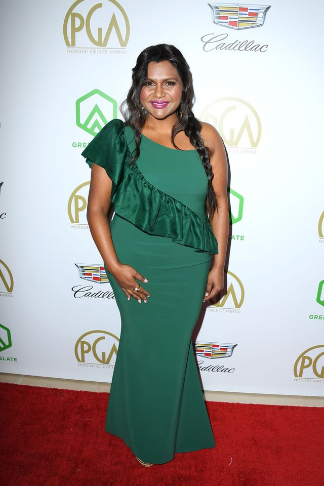 Mindy Kaling at the 2019 Producers Guild Awards