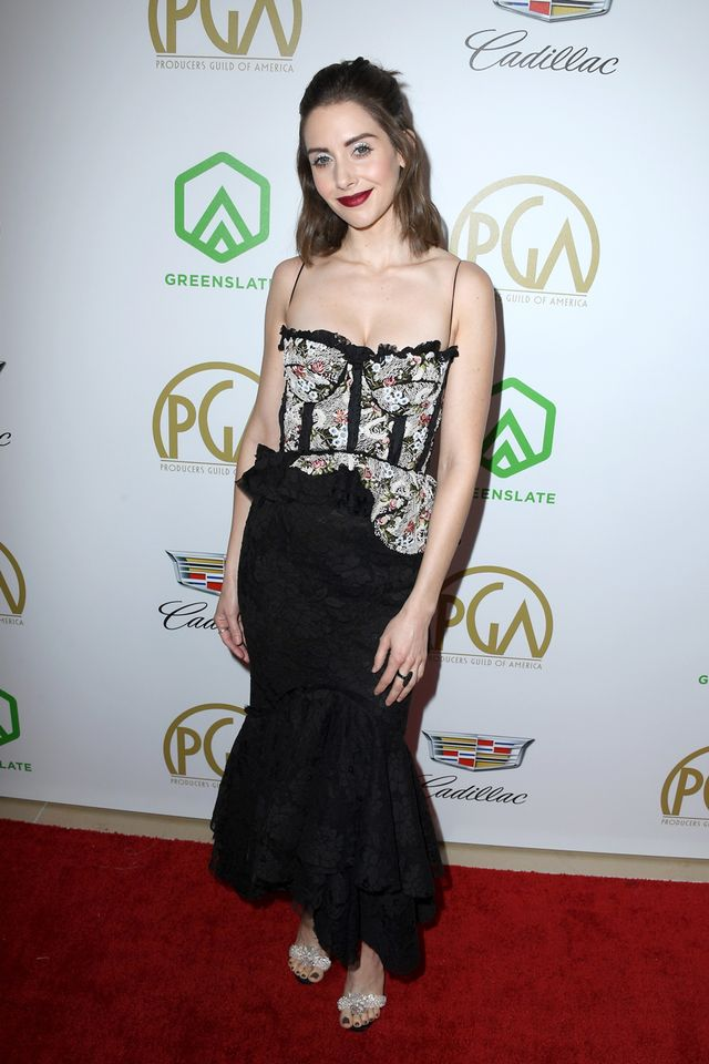Alison Brie at the 2019 Producers Guild Awards