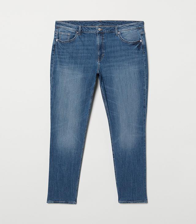 H&M+ Girlfriend Regular Jeans