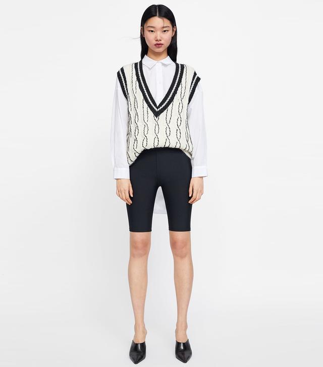 Zara Short Bicycle Leggings