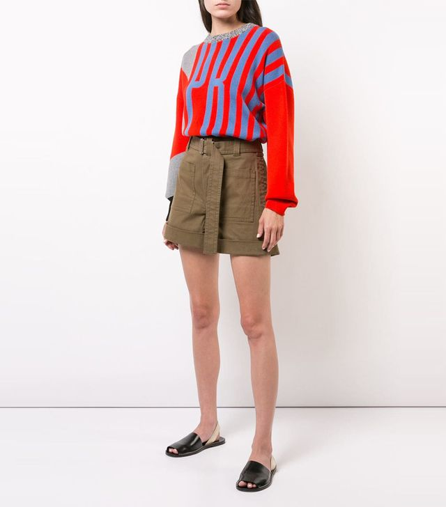 Proenza Schouler PSWL Utility Belted Shorts