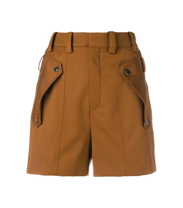 Chloé Flap Pocket Shorts