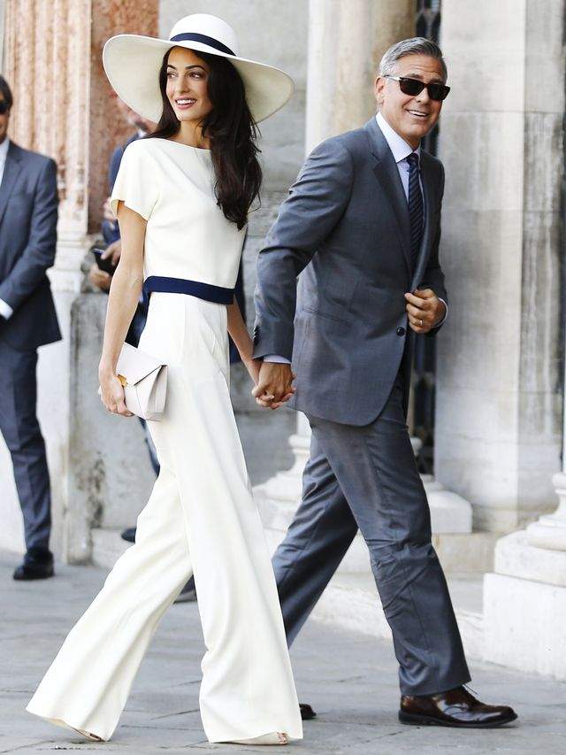 Amal Clooney Pant Outfits