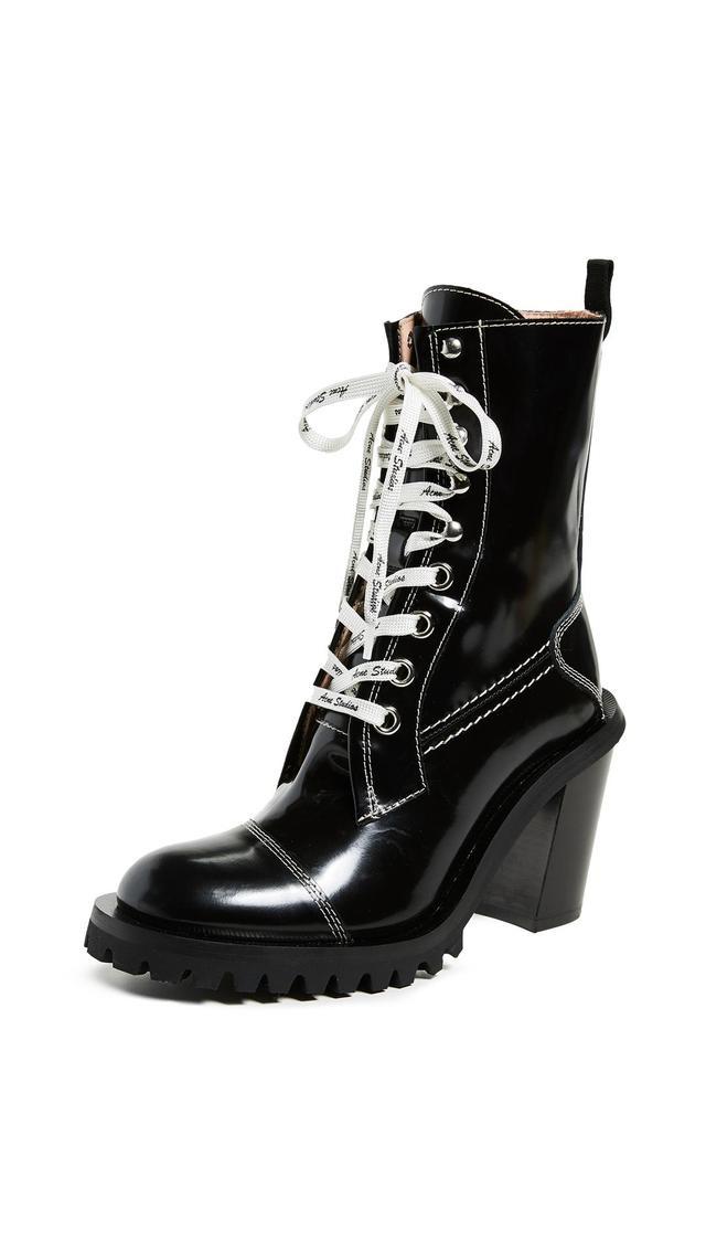 Acne Studios Heeled Combat Boots