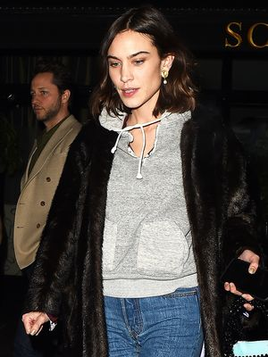 Alexa Chung Just Wore the World's Prettiest Heels With Skinny Jeans