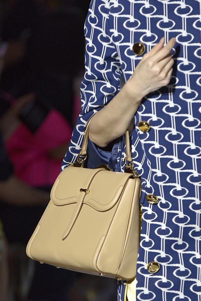 Top-Handle Handbags Were Seen at Prada Spring 2019 Runway