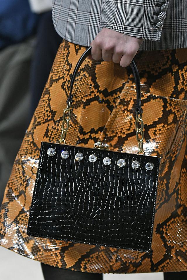 Top-Handle Handbags at Miu Miu Spring Runway