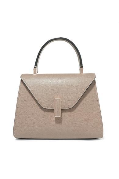 Valextra Iside Mini Textured Leather Bag
