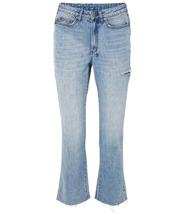Ksubi Skinny Kickin Flared Jeans