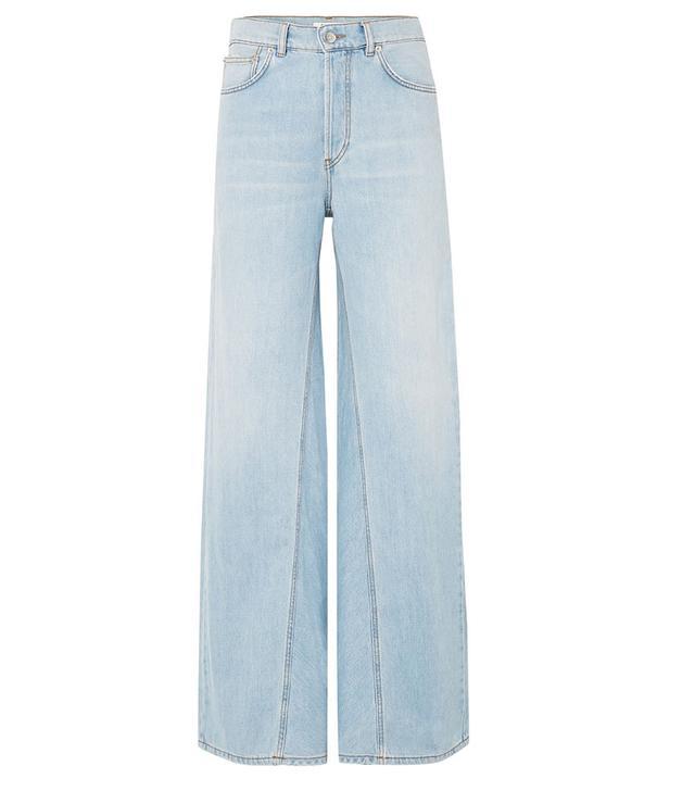 Ganni Sheldon Wide-Leg Jeans