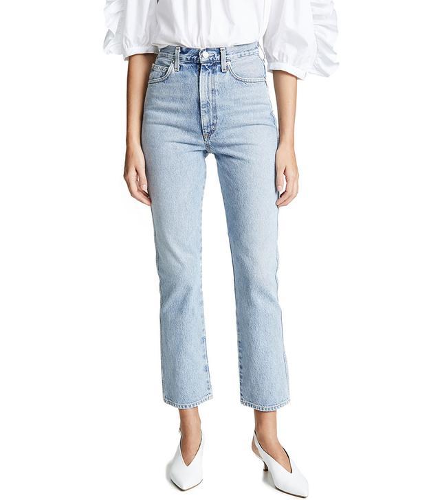 Agolde High-Rise Kick Pinch Waist Jeans