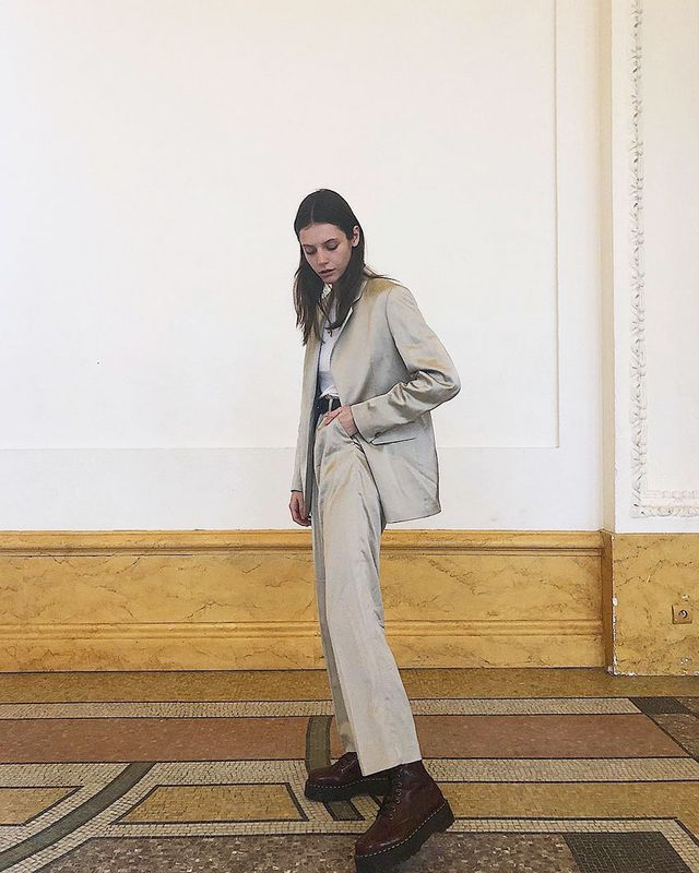 French-Girl Outfit: Suiting