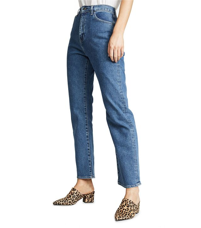 Levi's 701 High-Rise Straight Jeans