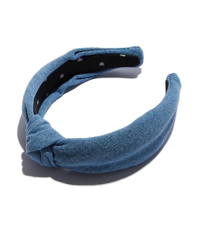 Lele Sadoughi Light Denim Headband
