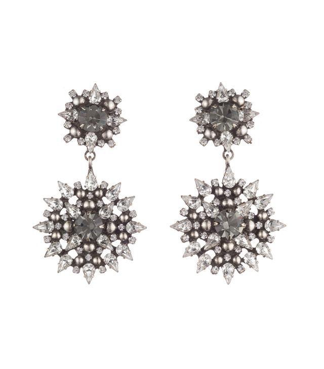 Dannijo Alby Crystal Drop Earrings