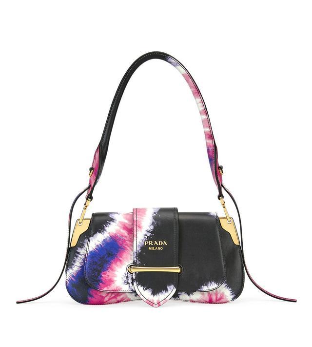 Prada Tie-Dye Prada Sidonie Shoulder Bag