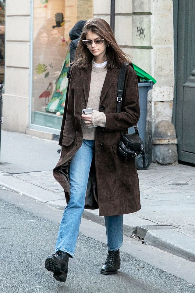 Celebrity Shoe Trends: Kaia Gerber