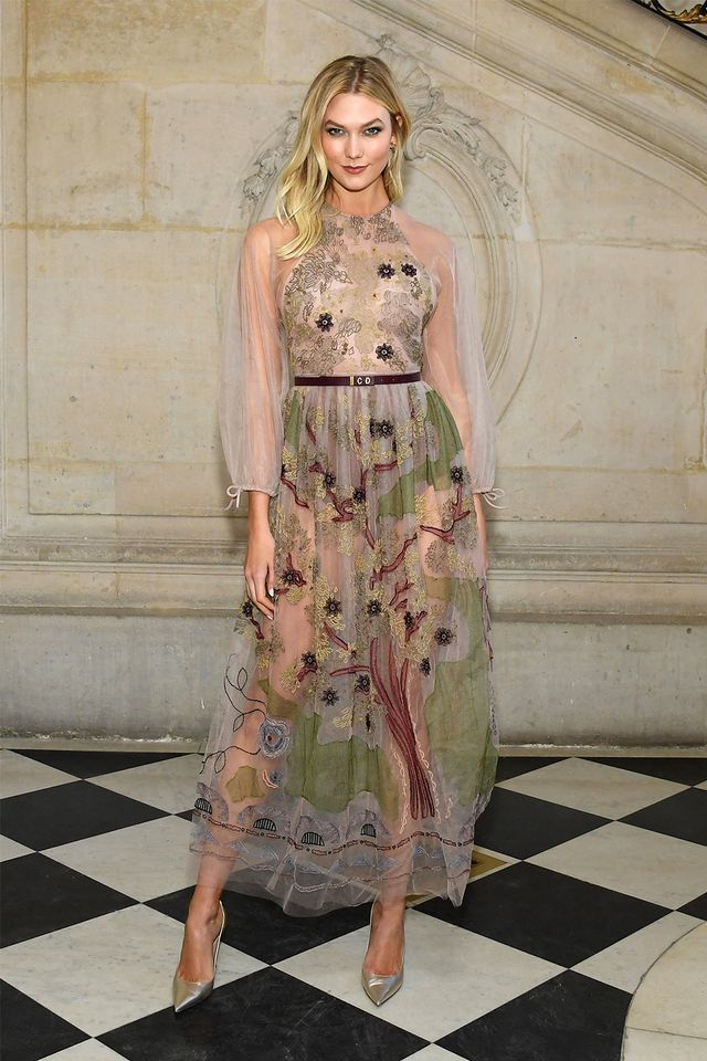 Dior S/S couture 2019: Karlie Kloss